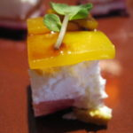 Beet & Goat Cheese appetizer