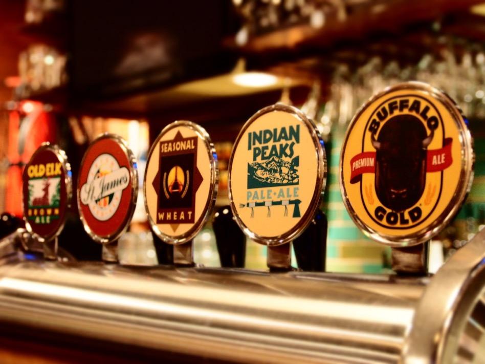 Walnut Brewery taps