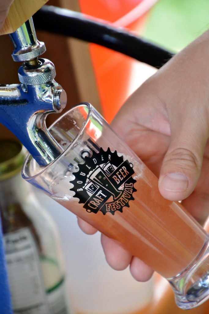 Patrons will receive a free Boulder Craft Beer Festival tasting glass to taste beers from 26 different breweries. Photo by Downtown Boulder.