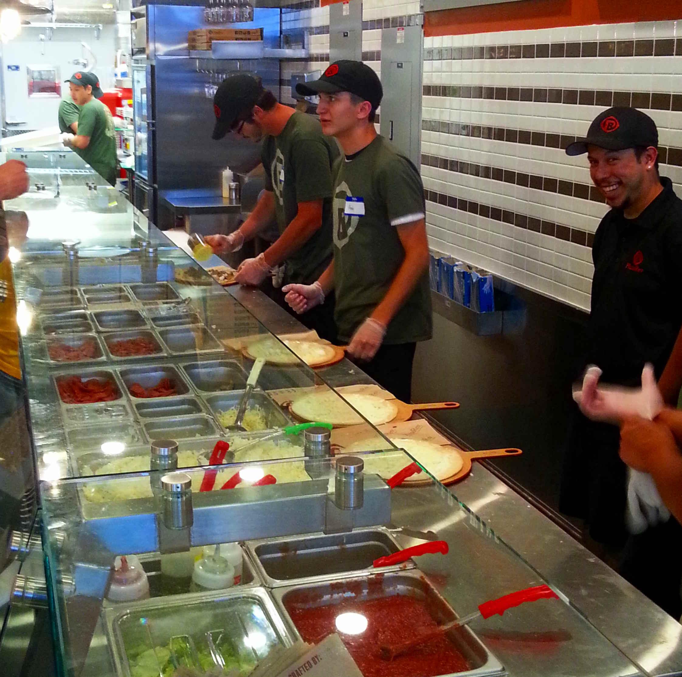 Fast Food Restaurants On Th Street Mall