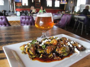 Brussels Sprouts: Sweet & spicy sesame, goat cheese