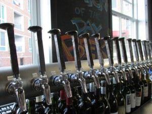 Railroad spike tap handles!