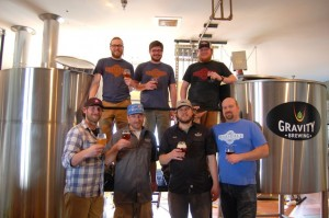 Marshall Brewing at Gravity Brewing in Louisville, CO.