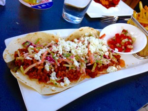 Savory spiced BBQ elk tacos